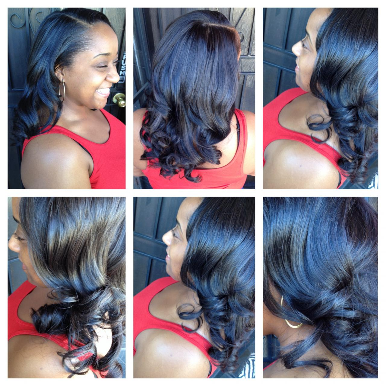 Women Of Color Salon Hair Extensions By Lesa Marie
